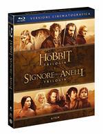 Lo Hobbit + Il Signore degli Anelli. Le trilogie (6 Blu-ray)