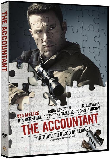 The Accountant (DVD) di Gavin O'Connor - DVD - 2