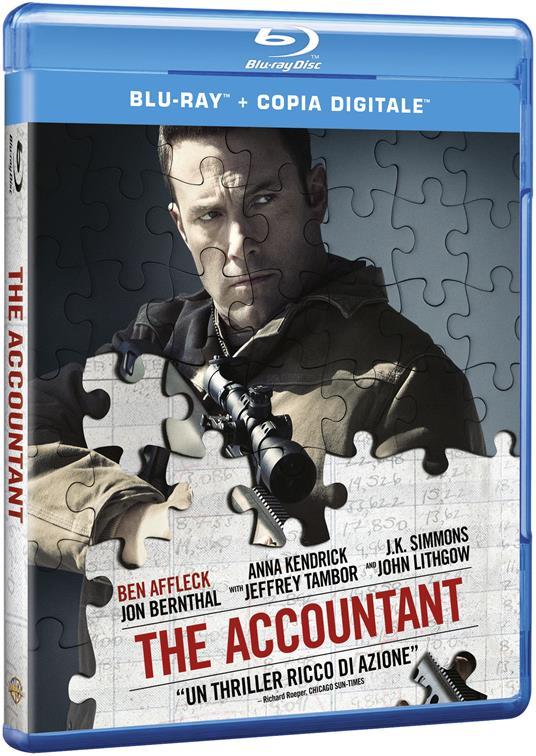 The Accountant (Blu-ray) di Gavin O'Connor - Blu-ray