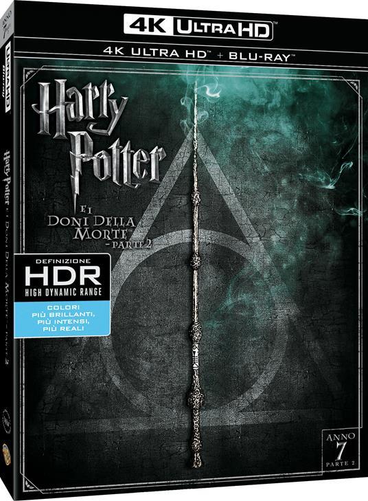 Harry Potter e i doni della morte. Parte 2 (Blu-ray + Blu-ray 4K Ultra HD) di David Yates