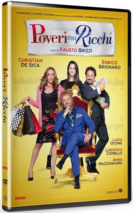 Poveri ma ricchi (DVD) di Fausto Brizzi - DVD
