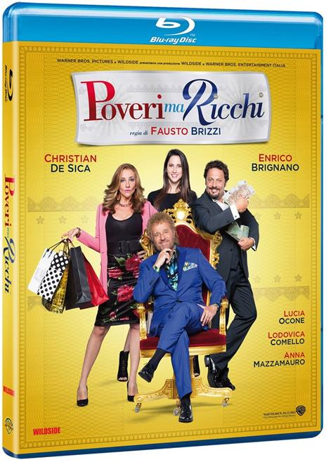 Poveri ma ricchi (Blu-ray) di Fausto Brizzi - Blu-ray