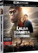 L' alba del pianeta delle scimme (Blu-ray + Blu-ray 4K Ultra HD)