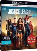 Justice League (Blu-ray + Blu-ray 4K Ultra HD)