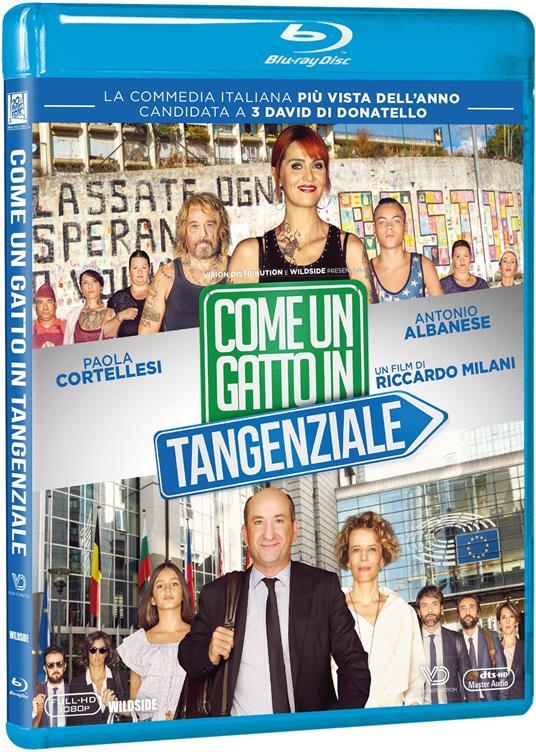 Come un gatto in tangenziale (Blu-ray) di Riccardo Milani - Blu-ray