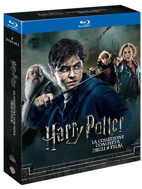 Harry Potter Collezione completa (8 Blu-ray) di Chris Columbus,Alfonso Cuaron,Mike Newell,David Yates