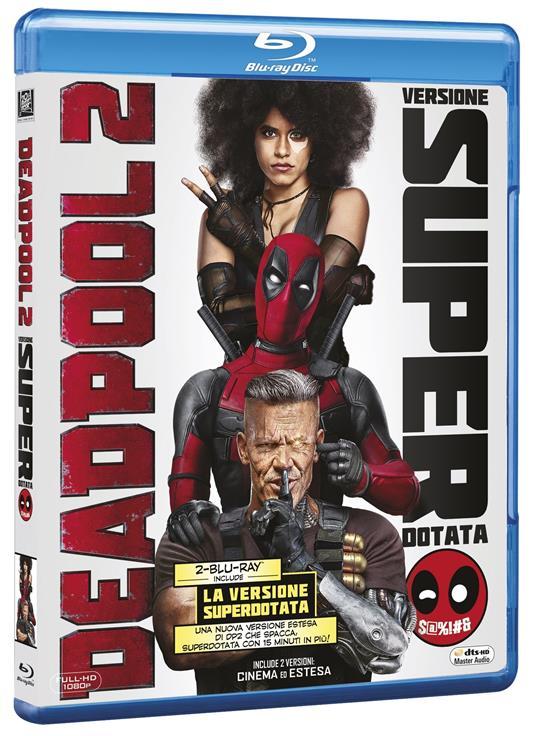 Deadpool 2. Versione superdotata (2 Blu-ray) di David Leitch - Blu-ray