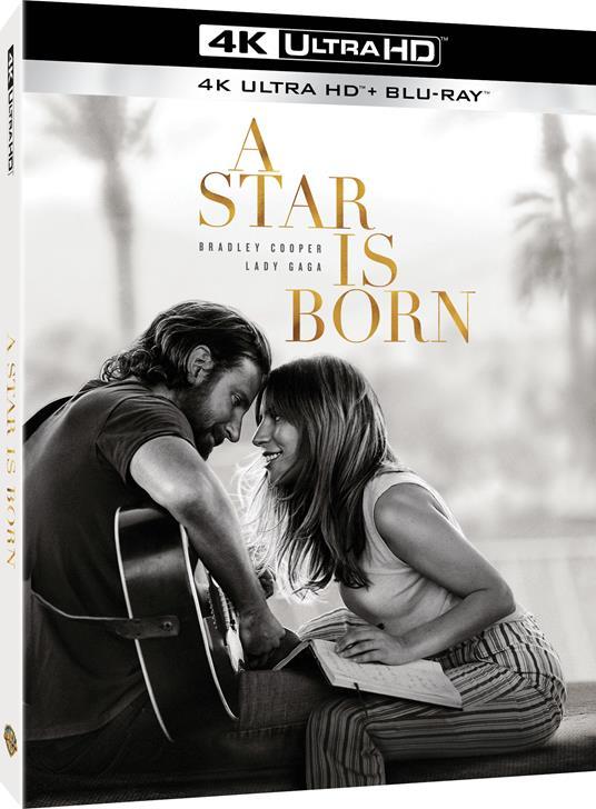 A Star Is Born (Blu-ray + Blu-ray Ultra HD 4K) di Bradley Cooper - Blu-ray + Blu-ray Ultra HD 4K