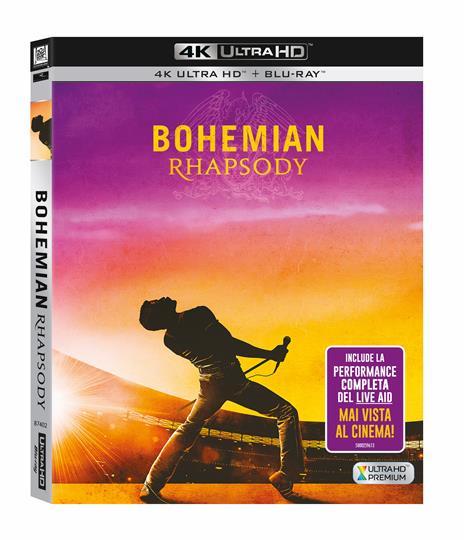Bohemian Rhapsody (Blu-ray + Blu-ray Ultra HD 4K) di Bryan Singer - Blu-ray + Blu-ray Ultra HD 4K