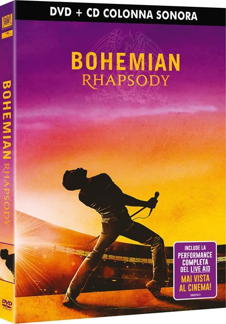 Bohemian Rhapsody. Con Colonna Sonora (DVD) di Bryan Singer - DVD