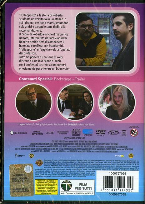 Tuttapposto (DVD) di Gianni Costantino - DVD - 2
