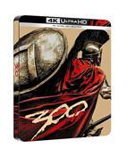 300. Con Steelbook (Blu-ray + Blu-ray Ultra HD 4K)