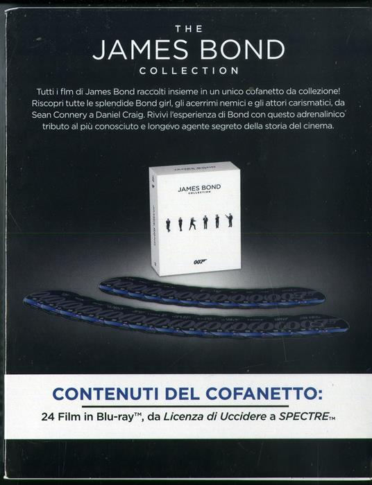 007 James Bond Collection 24 Film (Blu-ray) di Martin Campbell,Irvin Kershner,Sam Mendes,Terrence Young - 2