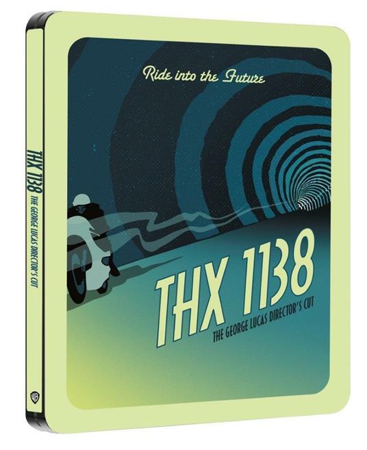 L' uomo che fuggì dal futuro. Con Steelbook e poster (Blu-ray) di George Lucas - Blu-ray