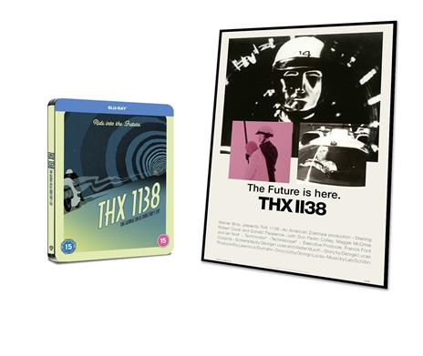 L' uomo che fuggì dal futuro. Con Steelbook e poster (Blu-ray) di George Lucas - Blu-ray - 2