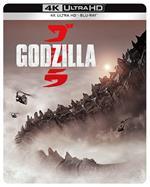 Godzilla (2014). Con Steelbook (Blu-ray + Blu-ray Ultra HD 4K)