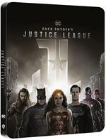 Zack Snyder's Justice League. Steelbook (4K Ultra HD + Blu-ray)