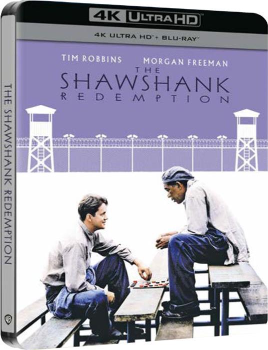 Le ali della libertà. Steelbook (Blu-ray + Blu-ray Ultra HD 4K) di Frank Darabont - Blu-ray + Blu-ray Ultra HD 4K