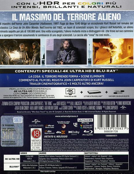 Le ali della libertà. Steelbook (Blu-ray + Blu-ray Ultra HD 4K) di Frank Darabont - Blu-ray + Blu-ray Ultra HD 4K - 2