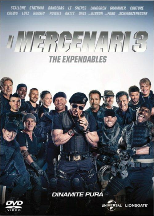 I mercenari 3. The Expendables di Patrick Hughes - DVD