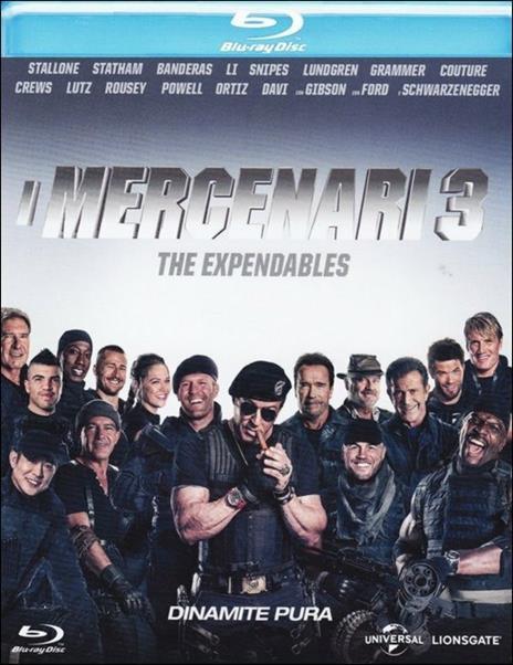 I mercenari 3. The Expendables di Patrick Hughes - Blu-ray