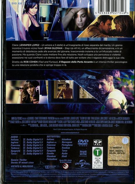 Il ragazzo della porta accanto di Rob Cohen - DVD - 2