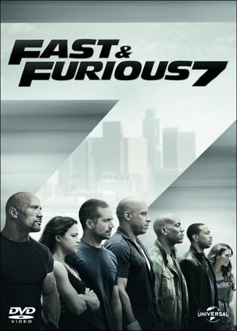 Fast & Furious 7 di James Wan - DVD