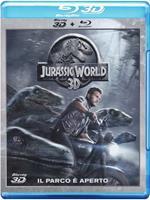 Jurassic World 3D (Blu-ray + Blu-ray 3D)