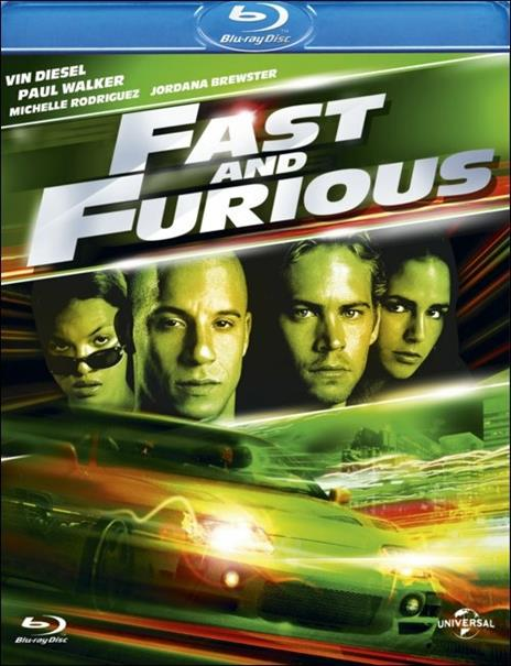Fast and Furious di Rob Cohen - Blu-ray