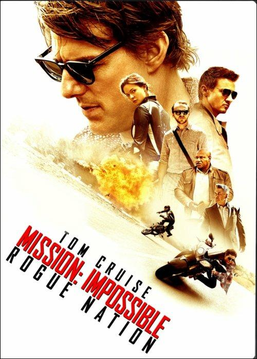 Mission: Impossible. Rogue Nation di Christopher McQuarrie - DVD