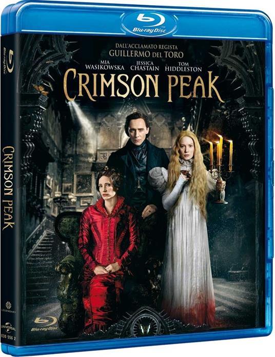 Crimson Peak di Guillermo Del Toro - Blu-ray