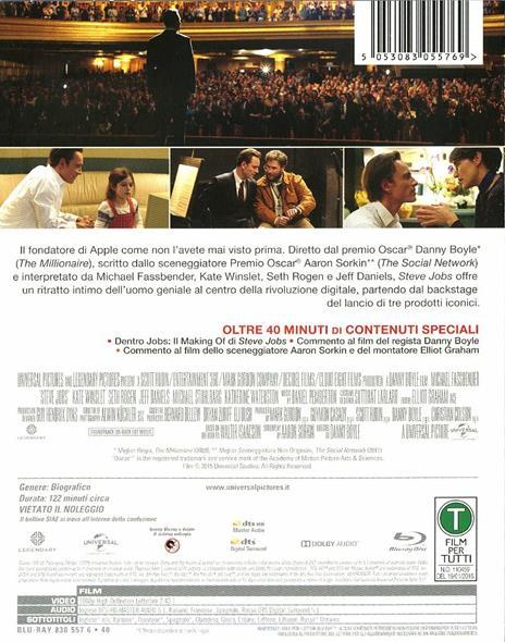 Steve Jobs di Danny Boyle - Blu-ray - 6