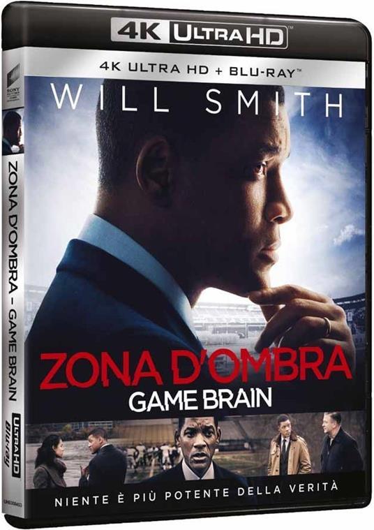 Zona d'ombra. Una scomoda verità (Blu-ray + Blu-ray 4K Ultra HD) di Peter Landesman - Blu-ray + Blu-ray Ultra HD 4K