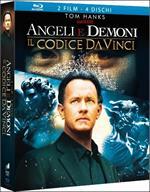 Angeli e demoni. Il codice da Vinci (3 Blu-ray)