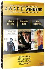 La teoria del tutto. A Beautiful Mind. Erin Brockovich. Oscar Collection (3 DVD)