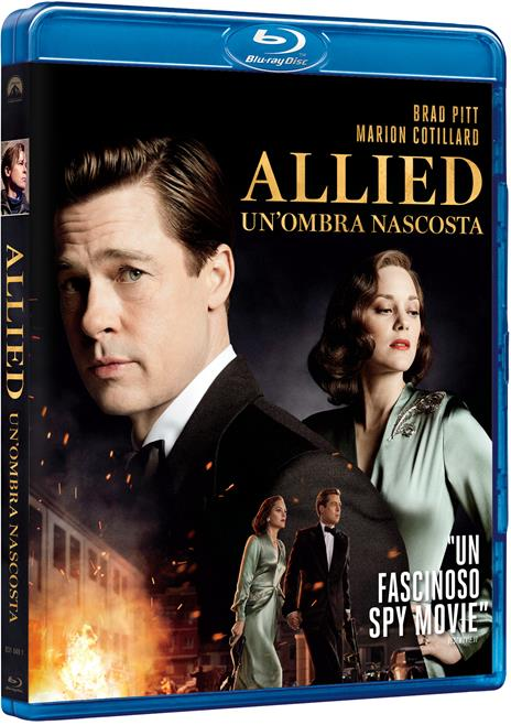 Allied. Un'ombra nascosta (Blu-ray) di Robert Zemeckis - Blu-ray