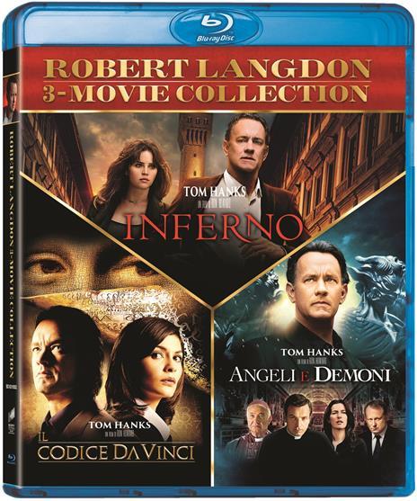 Robert Langdon Trilogy (3 Blu-ray) di Ron Howard