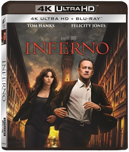 Inferno (Blu-ray + Blu-ray 4K Ultra HD) di Ron Howard
