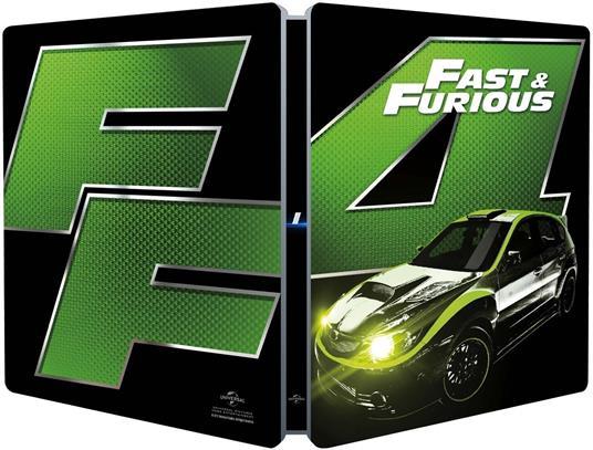 Fast & Furious. Solo parti originali. Con Steelbook (Blu-ray) di Justin Lin - Blu-ray