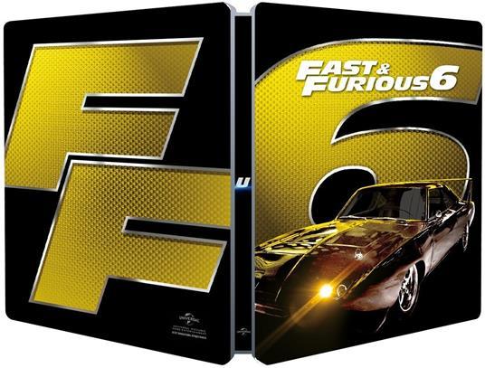 Fast & Furious 6. Con Steelbook (Blu-ray) di Justin Lin - Blu-ray