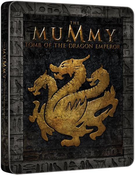 La Mummia. La tomba dell'Imperatore Dragone. Con Steelbook (Blu-ray) di Rob Cohen - Blu-ray