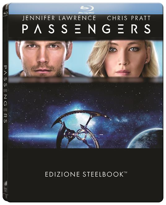 Passengers. Con Steelbook di Morten Tyldum - Blu-ray