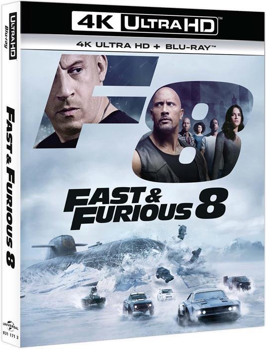 Fast & Furious 8 (Blu-ray + Blu-ray 4K Ultra HD) di F. Gary Gray