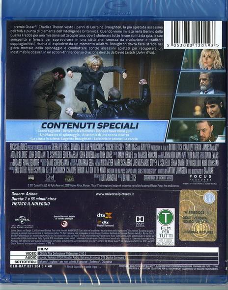 Atomica bionda (Blu-ray) di David Leitch - Blu-ray - 2