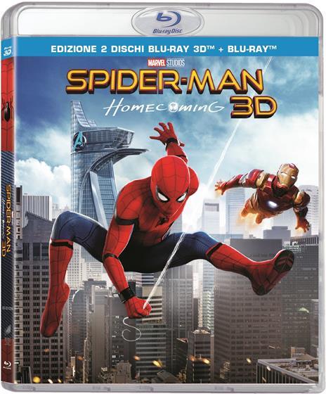 Spider-Man: Homecoming (Blu-ray + Blu-ray 3D) di Jon Watts