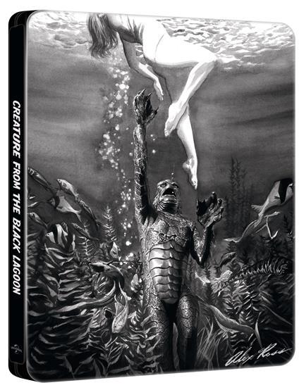 Il mostro della laguna nera. Con Steelbook di Jack Arnold - Blu-ray