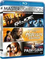 Dwayne Johnson Master Collection. G.I. Joe. La vendetta - Hercules - Pain and Gain (3 Blu-ray)