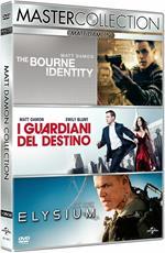 Matt Damon Master Collection. The Bourne Identity - Elysium - I guardiani del destino (3 DVD)
