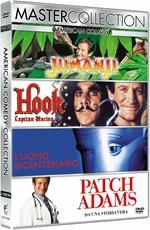 Robin Williams Master Collection. Jumanji - Hook. Capitan Uncino - L'uomo bicentenario - Patch Adams (4 DVD)
