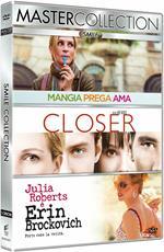 Julia Roberts Master Collection. Mangia, prega, ama - Closer - Erin Brockovich (3 DVD)